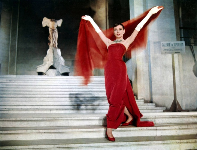 audrey-funny-face-red-dress