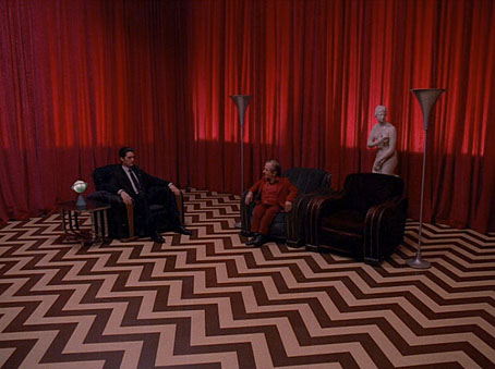 Image result for the black lodge twin peaks