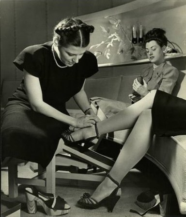 Image result for shoe shop 1950s